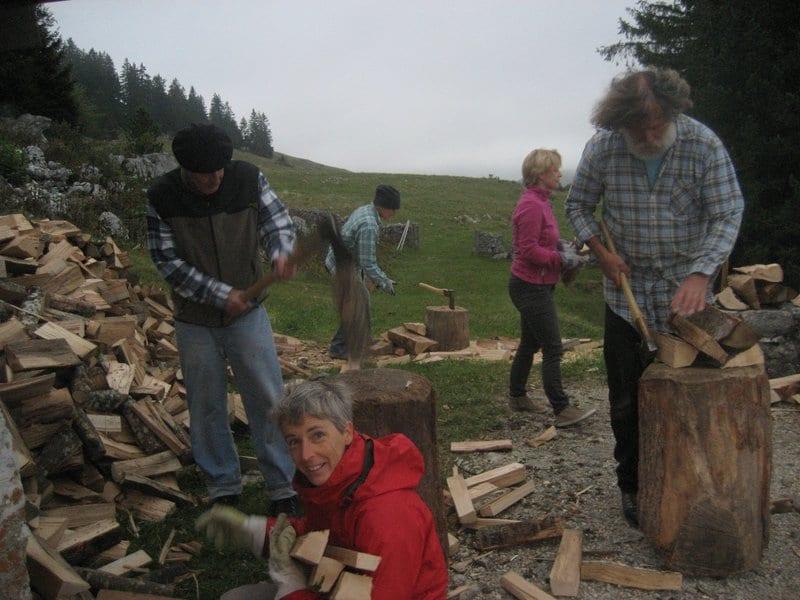 Corvées de bois