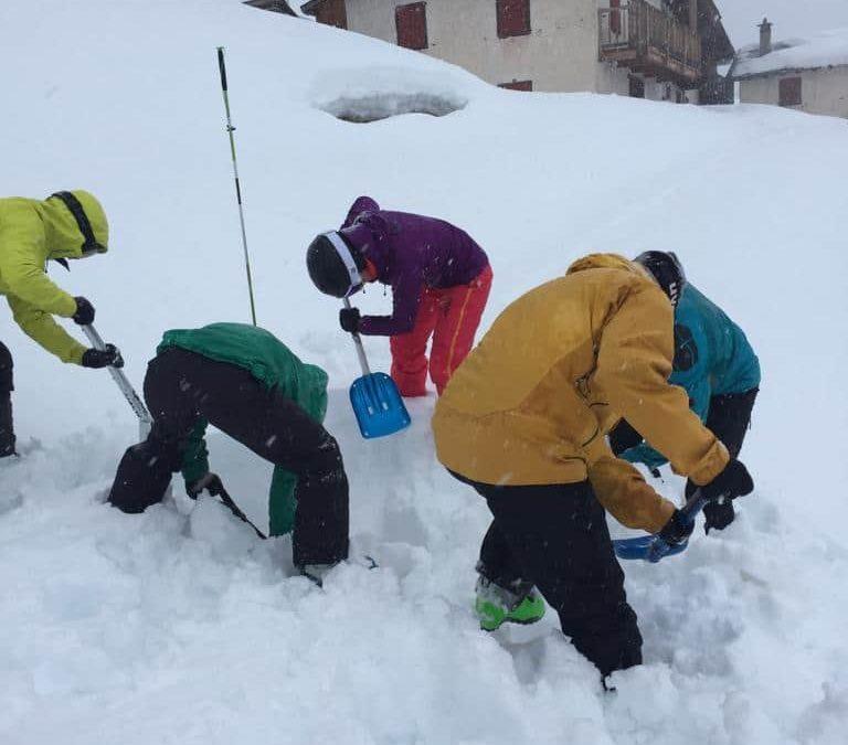 Sortie du samedi 17 février 2018 à La Crêta de Vella – Cours de formation randonnée à ski