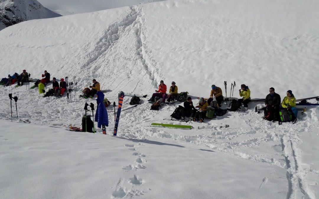 Dimanche 18 février 2018 – 2ème jour du WE de formation ski-alpinisme du CAS Sommartel