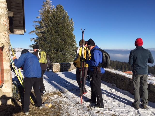 Compte rendu sortie à ski du fond le 13 janvier 2018